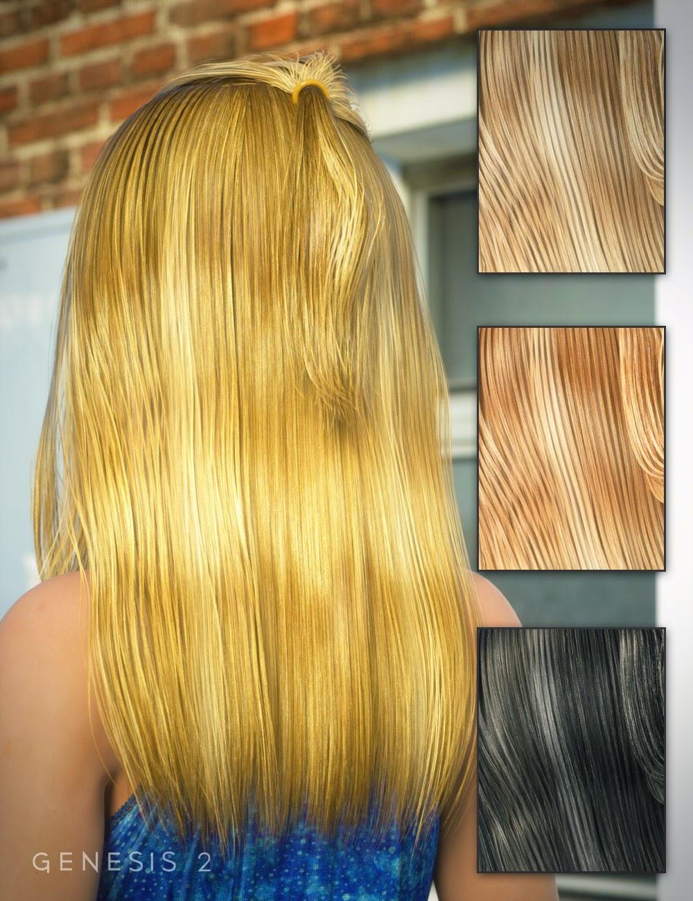 Aubree cheveux pour Genesis 2 Femme