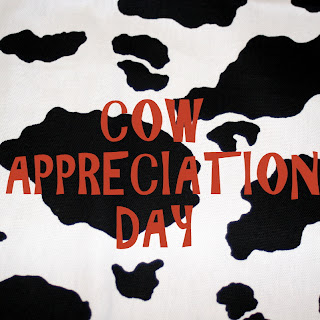 This is a graphic of Universal Chick Fil a Cow Appreciation Day Printable