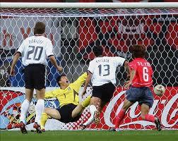 Alemanha 1x0 Coréia do Sul - 2002