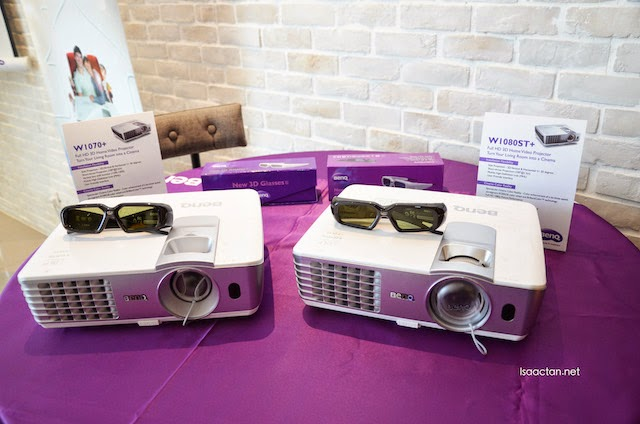 The W1070+ and the W1080ST+ home video projectors