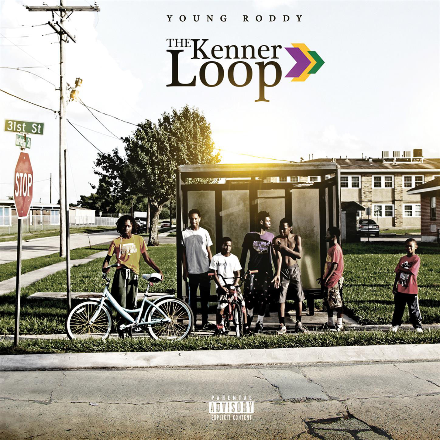 Young Roddy - The Kenner Loop Cover