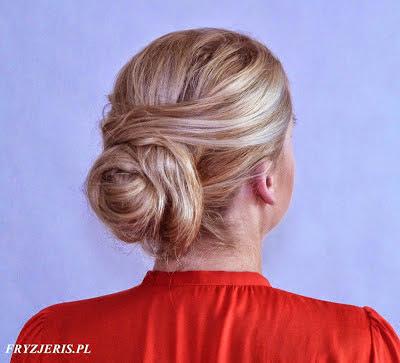 fryzura ślubna 97