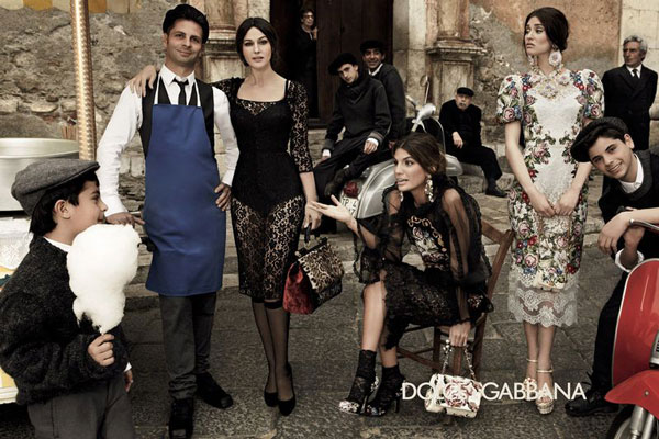 Dolce & Gabbana F/W 2012-2013 men and woman Campaign