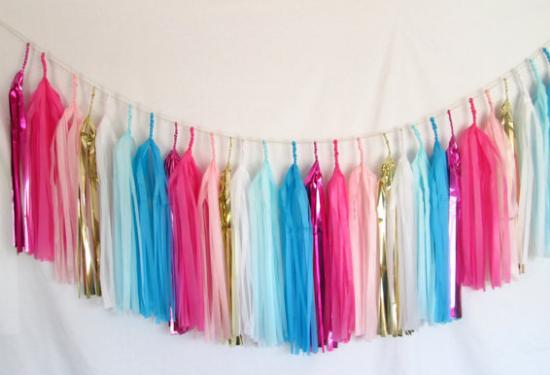 wedding backdrops, fringe garlands, decorazioni matrimonio