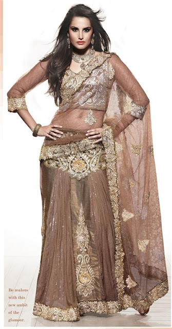 Bollywood Fancy Saree Trends 2012