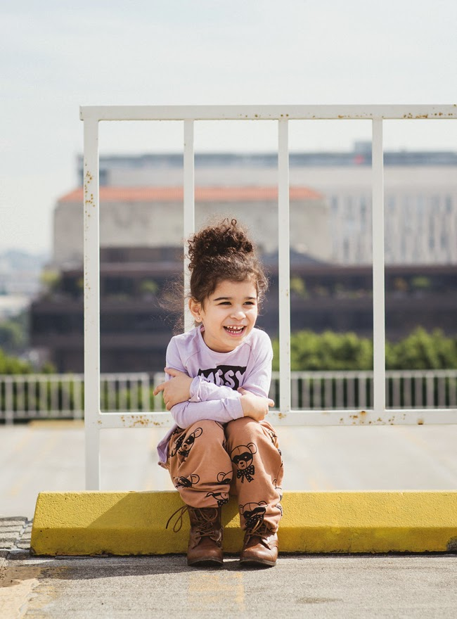 Organic Quinn + Fox Autumn-Winter 2014 kidswear collection 'Cappuccini Cirkus'