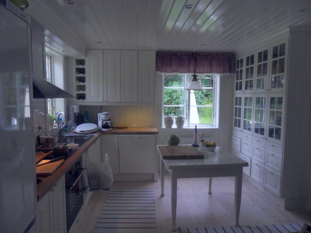 Blandare Kok Lantlig Stil : Joys and Inspiration Sista sommardagarna och kok i lantlig stil