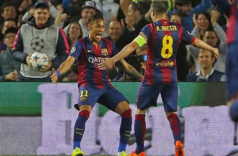 Barcelona 2 - 0 PSG