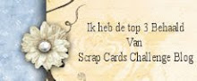 In de top 3 bij Scrap cards