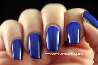 blue grape New Barry M Gelly Collection Swatches