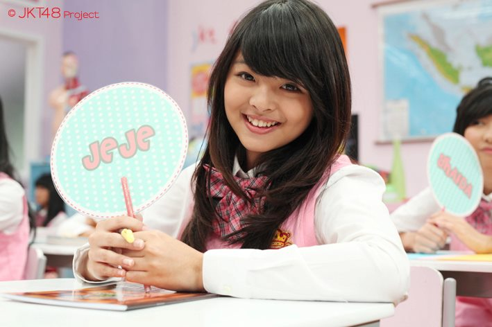 Jeje At JKT48 school episode1