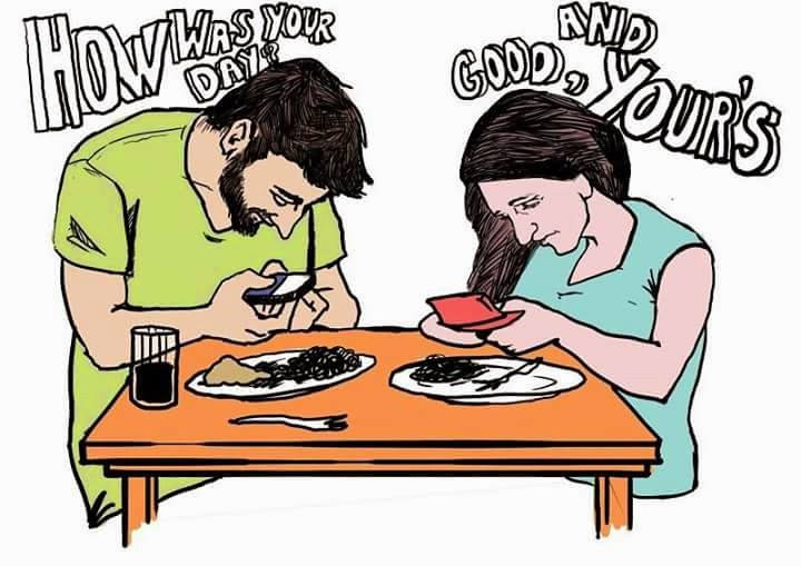 """Is Technology Murdering Our """"Real Social Life"""" ? [Images]"""