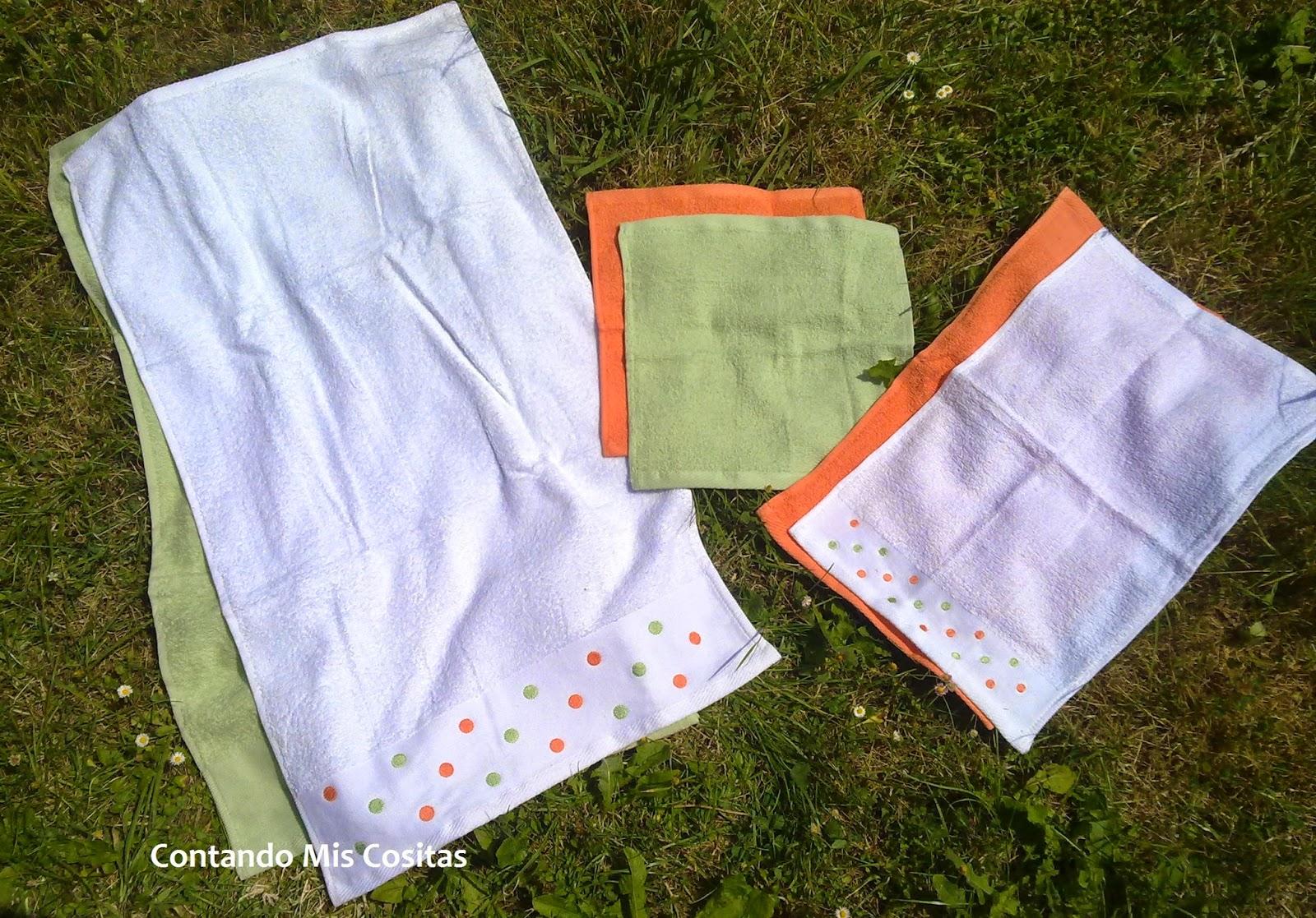 juego de toallas bottega verde