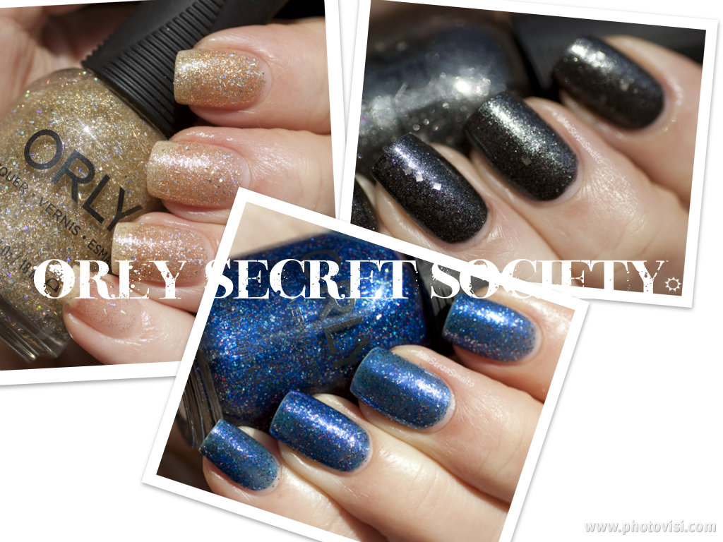 Mai senza smalto!: Orly Secret Society swatches: first ...