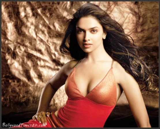 Deepika Padukone Hot Body Bra Photo