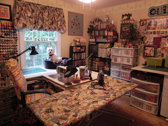 My Tiny Little Sewing Room