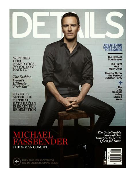 Michael Fassbender by Robbie Fimmano