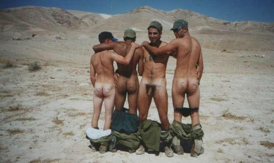 Straight army men nude