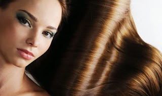 rambut lembut alami