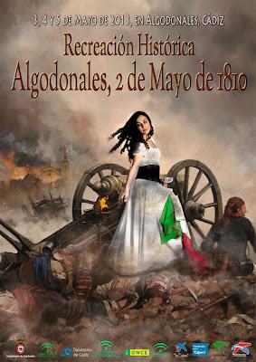 Cartel 2 de Mayo 2013 Algodonales