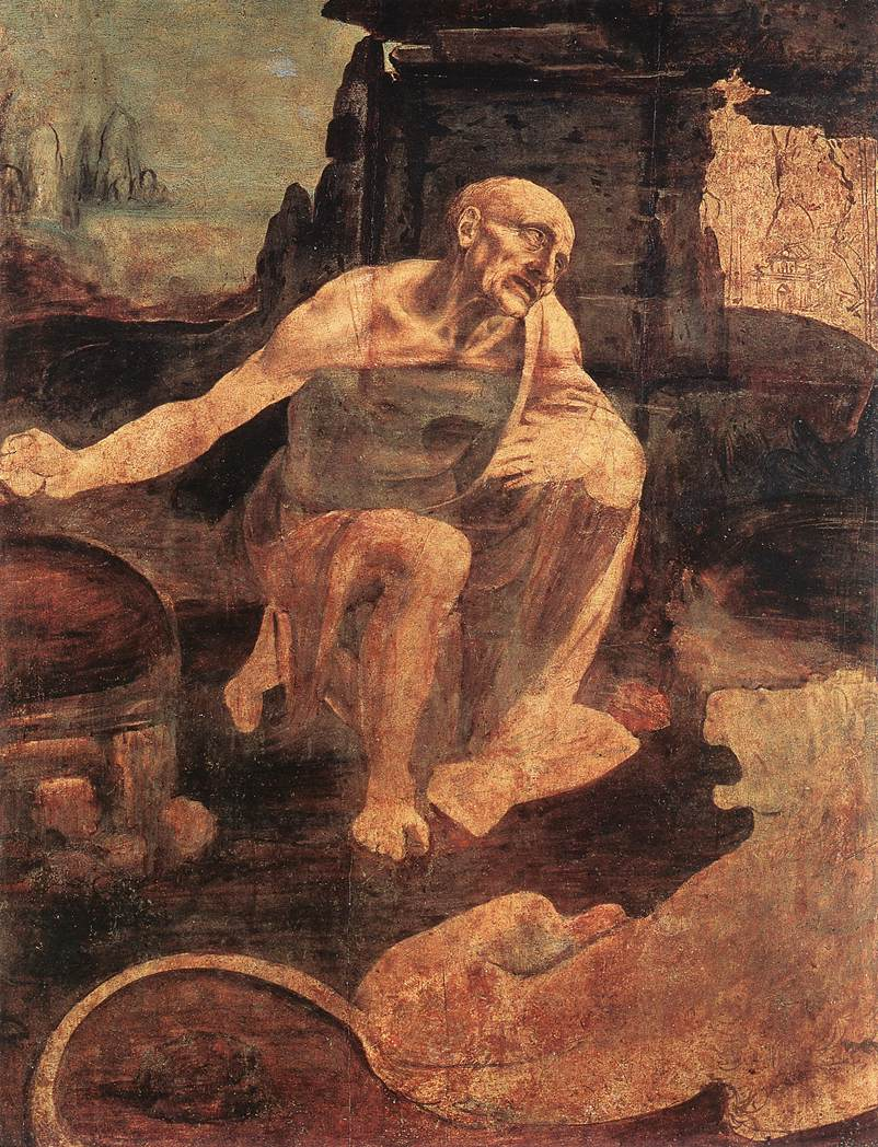 San Jerónimoo, el cuadro inacabado de Leonardo da Vinci