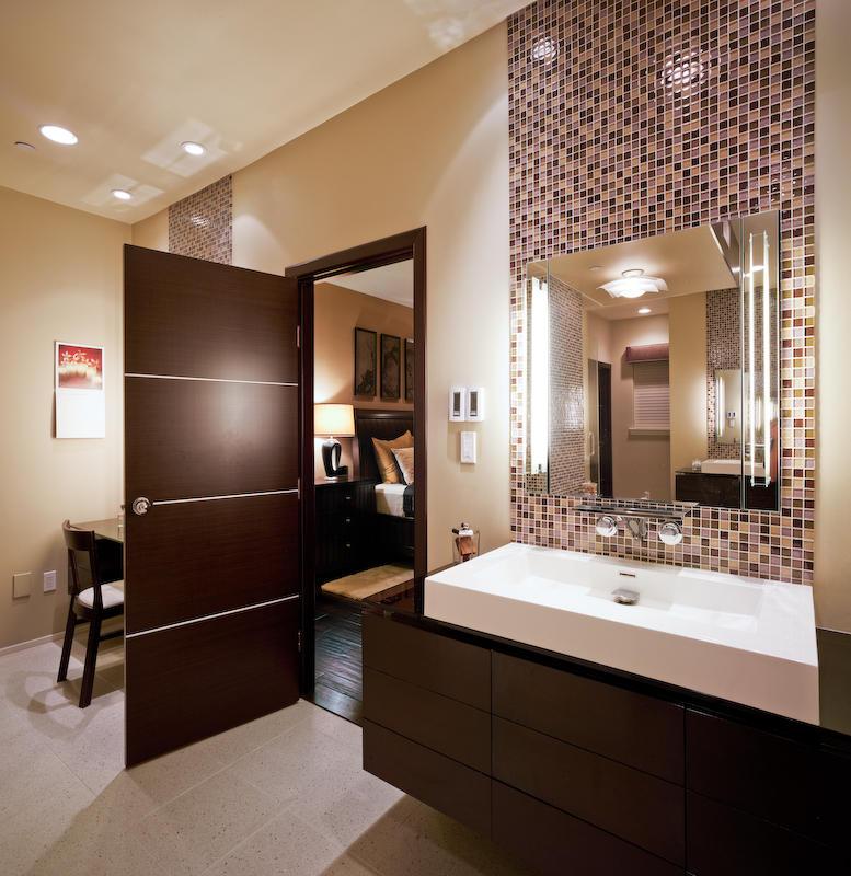 Poze bai moderne preturi manopera amenajari interioare for Modern bathrooms 2015