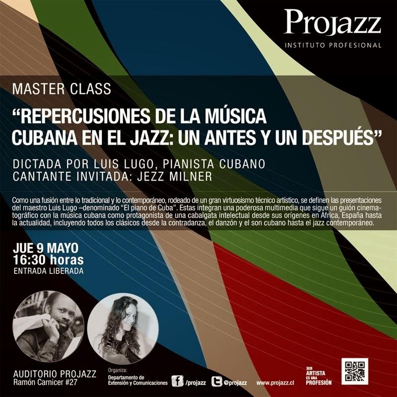 Master Clases en ProJazz-Santiago de Chile