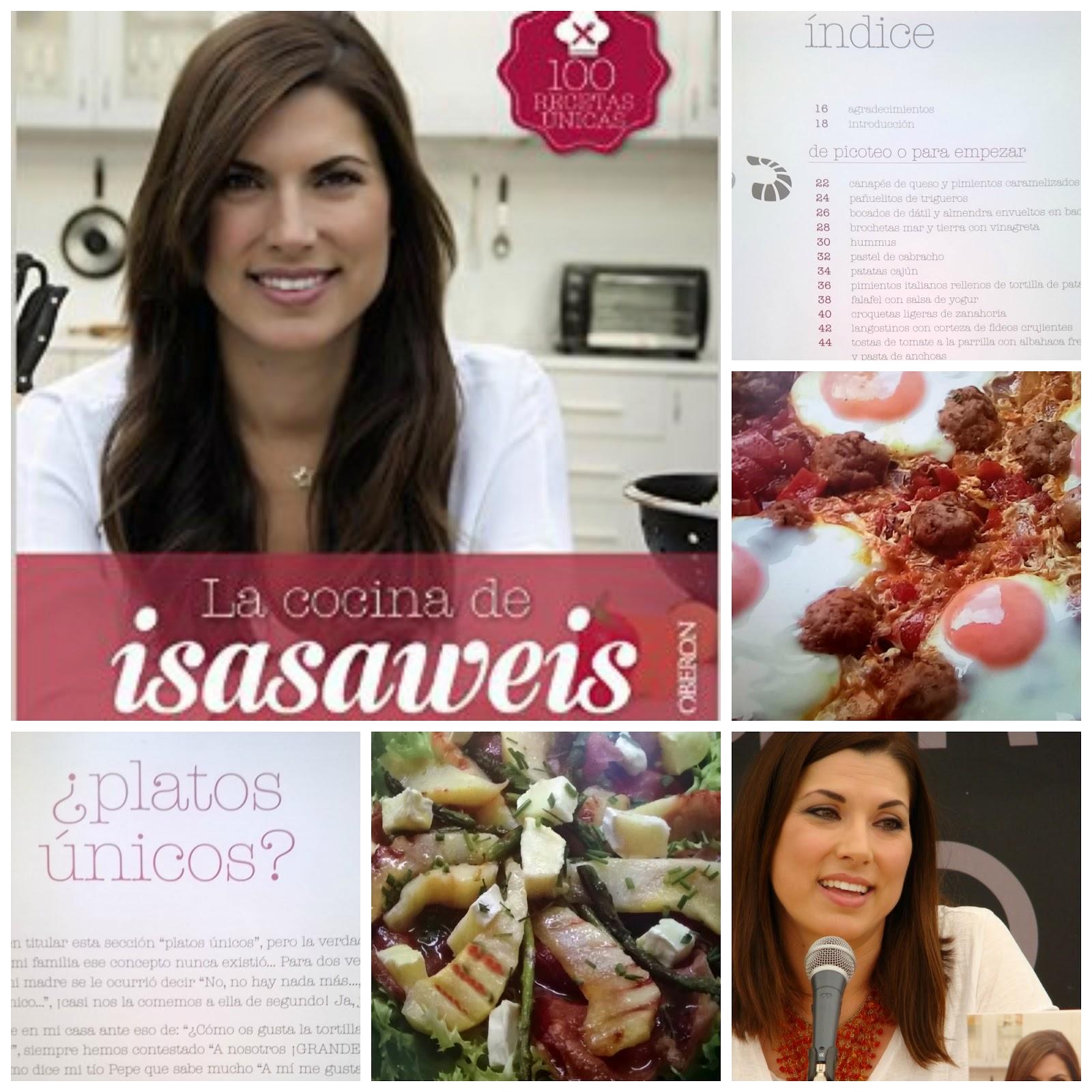 Books co presentaci n la cocina de isasaweis de isabel for Cocina de isasaweis