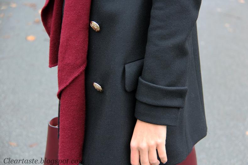 płaszcz zara blog