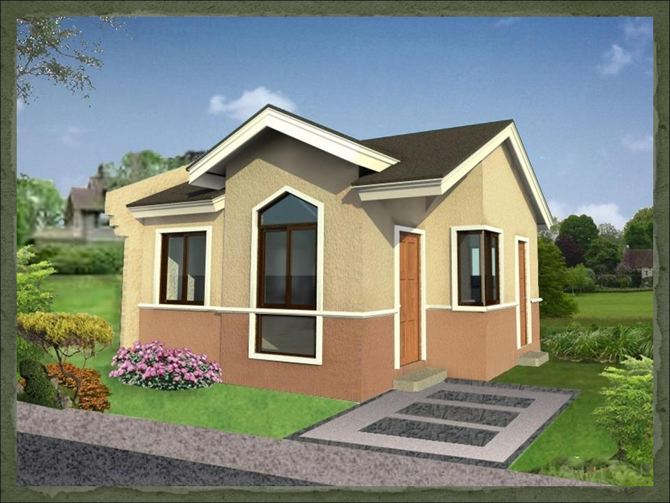 Small european house design exotic house interior designs for Small house exterior design philippines