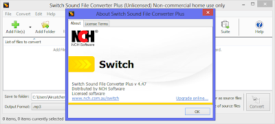 NCH Switch Sound File Converter Plus 4.47 Full With Serial Key ~ Free ...