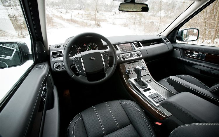 The 2012 range rover hse information - 2012 range rover interior pictures ...