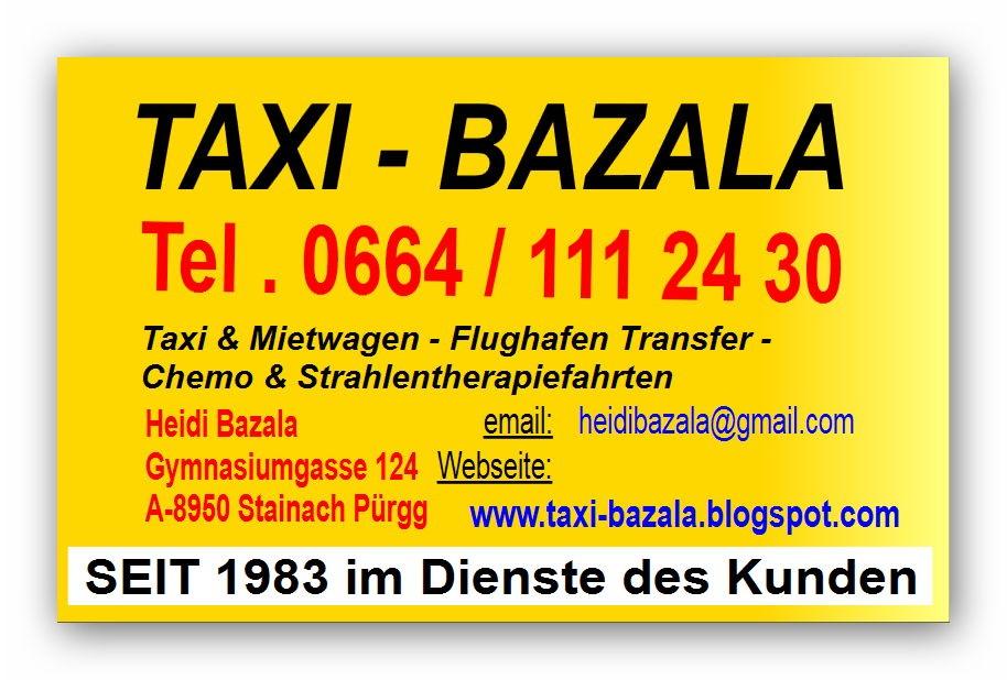 Ihr Taxi für alle Fälle!