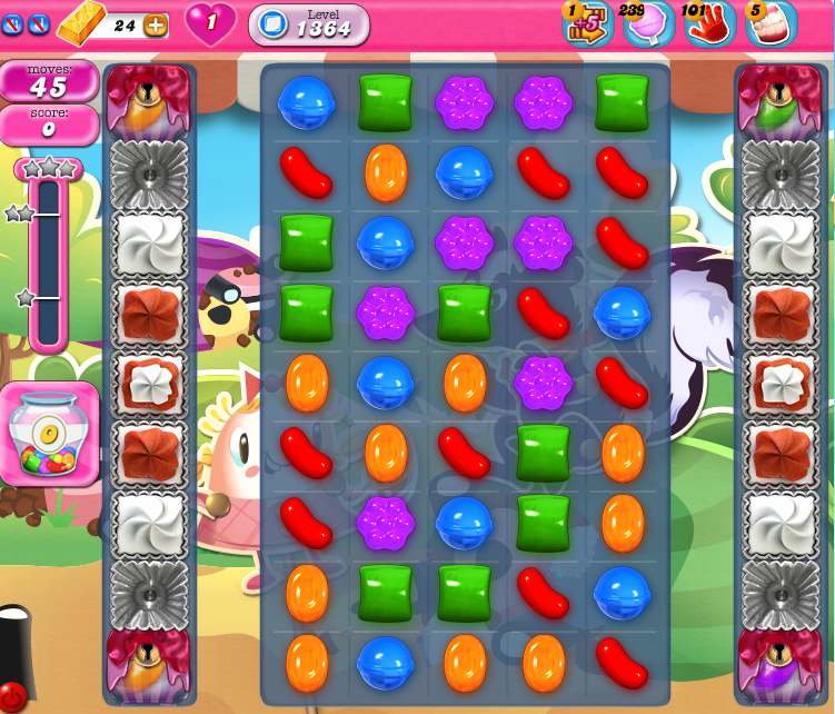 Candy Crush Saga 1364