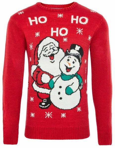 Jersey rojo para hombre de la colección de Navidades