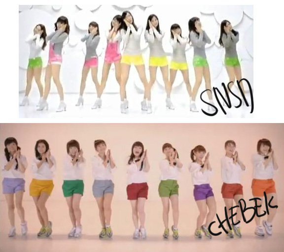 Cherry Belle vs SNSD