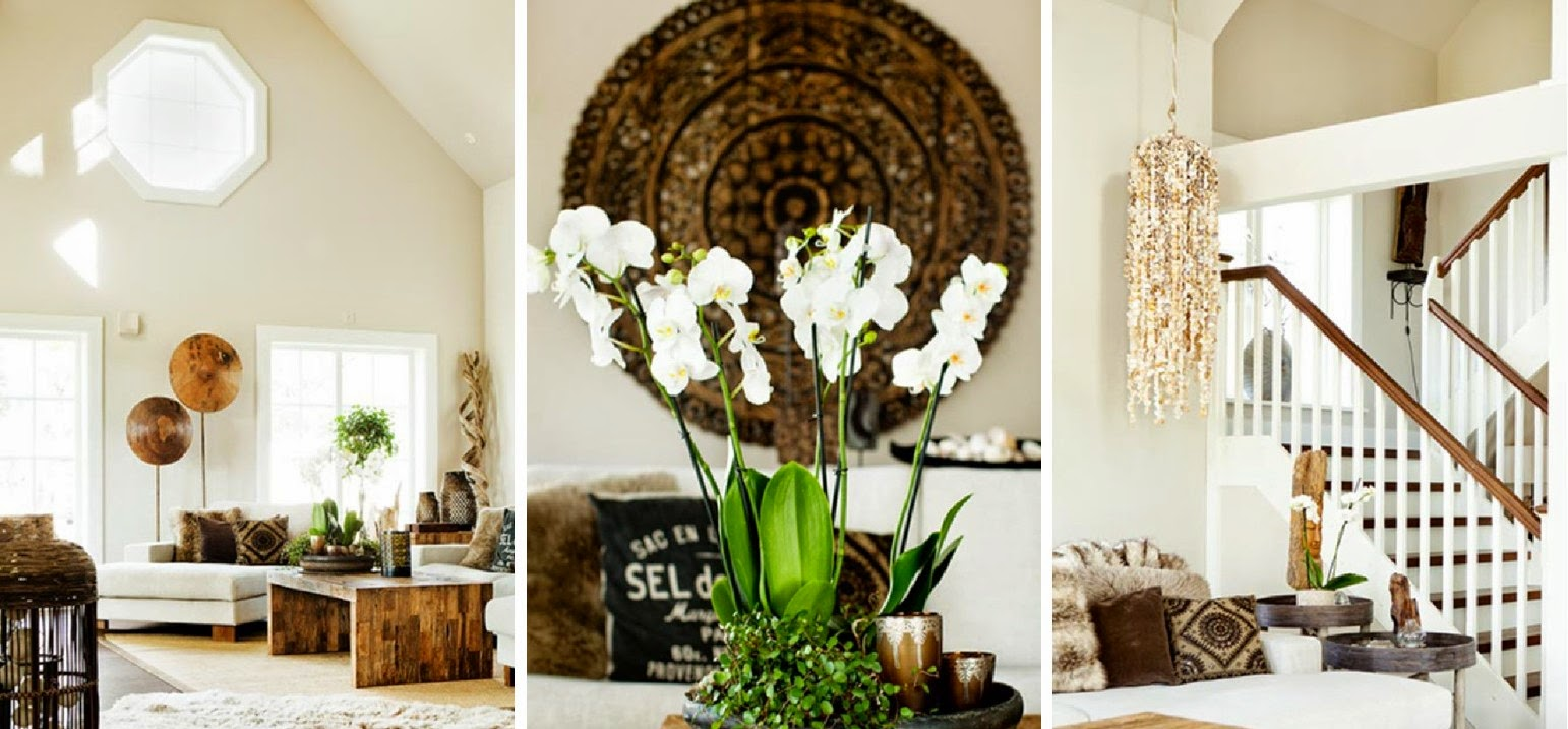 Den vita drömgården: vardagsrummet