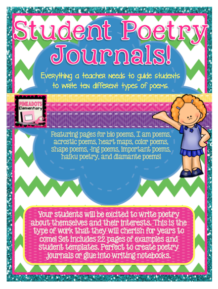 https://www.teacherspayteachers.com/Product/Poetry-Journals-for-Students-Directions-and-Examples-for-TEN-types-of-Poems-1162716