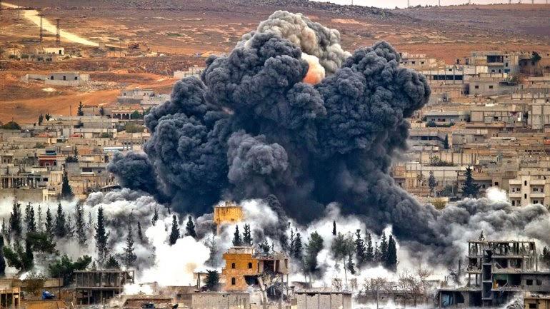 NOTICIA - Ya abatieron a más de 1.000 yihadistas con ataques aéreos de la coalición internacional