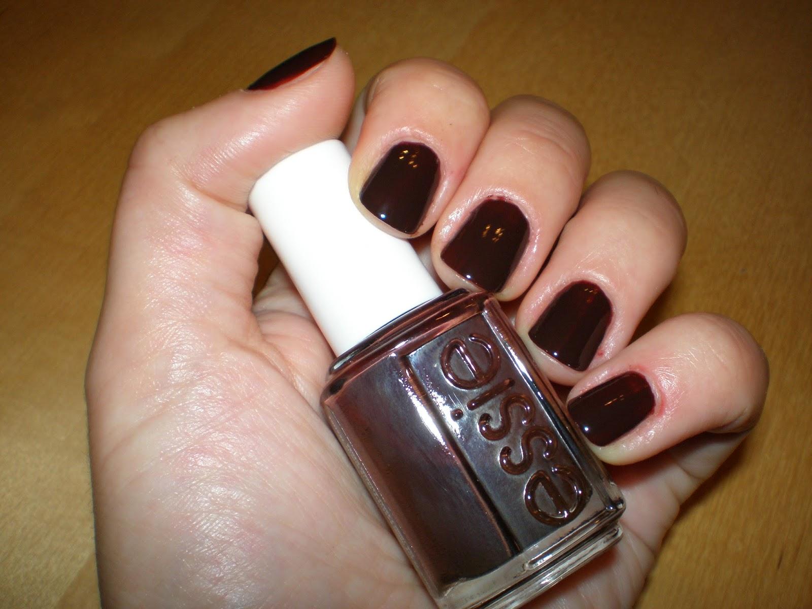 Essie nail polish in Lady Godiva