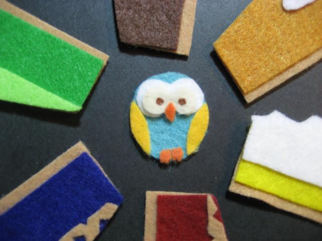 Felt Board Owl