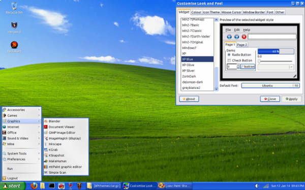 Windows XP look and Linux save the old PCs