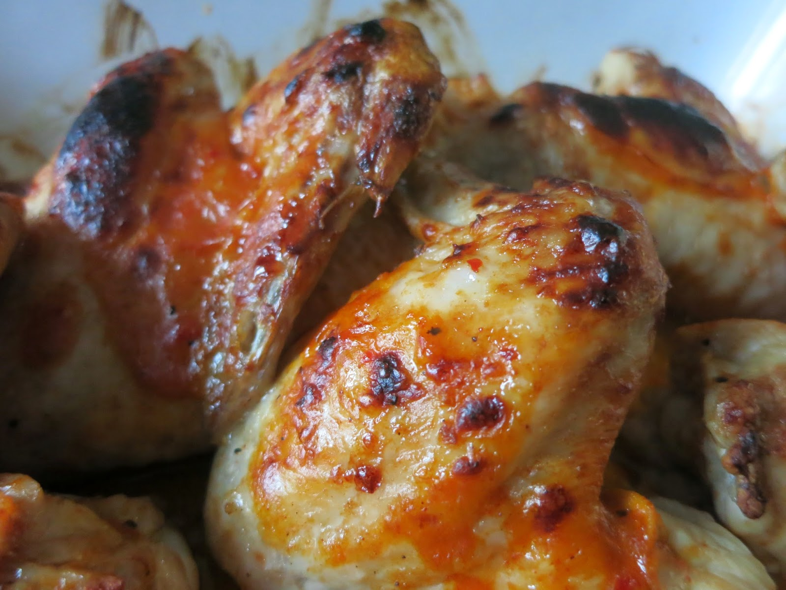 sumptuously saucy peri-peri wings