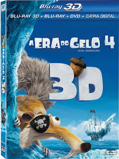A Era do Gelo 4 (Ice Age 4: Continental Drift) Torrent – Dual Áudio (2012)