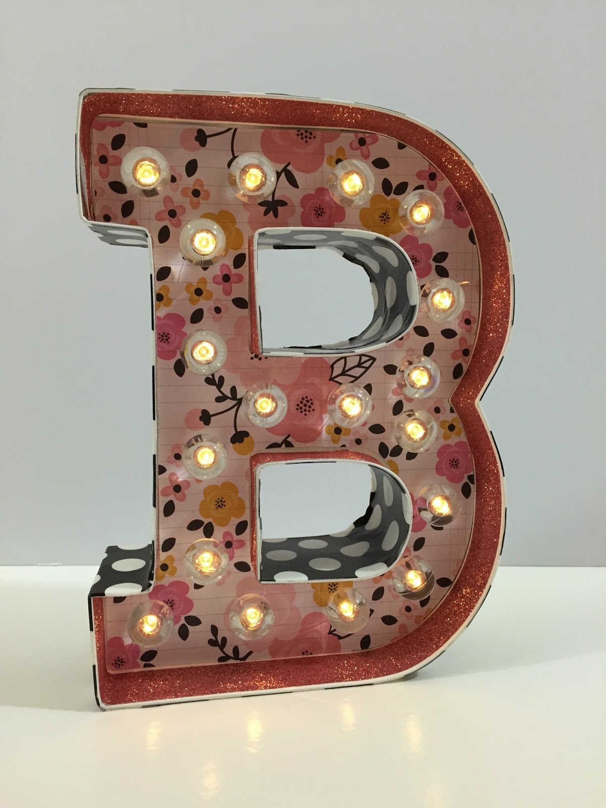 Mrs crafty adams heidi swapp marquee letter quotbquot for B marquee letter