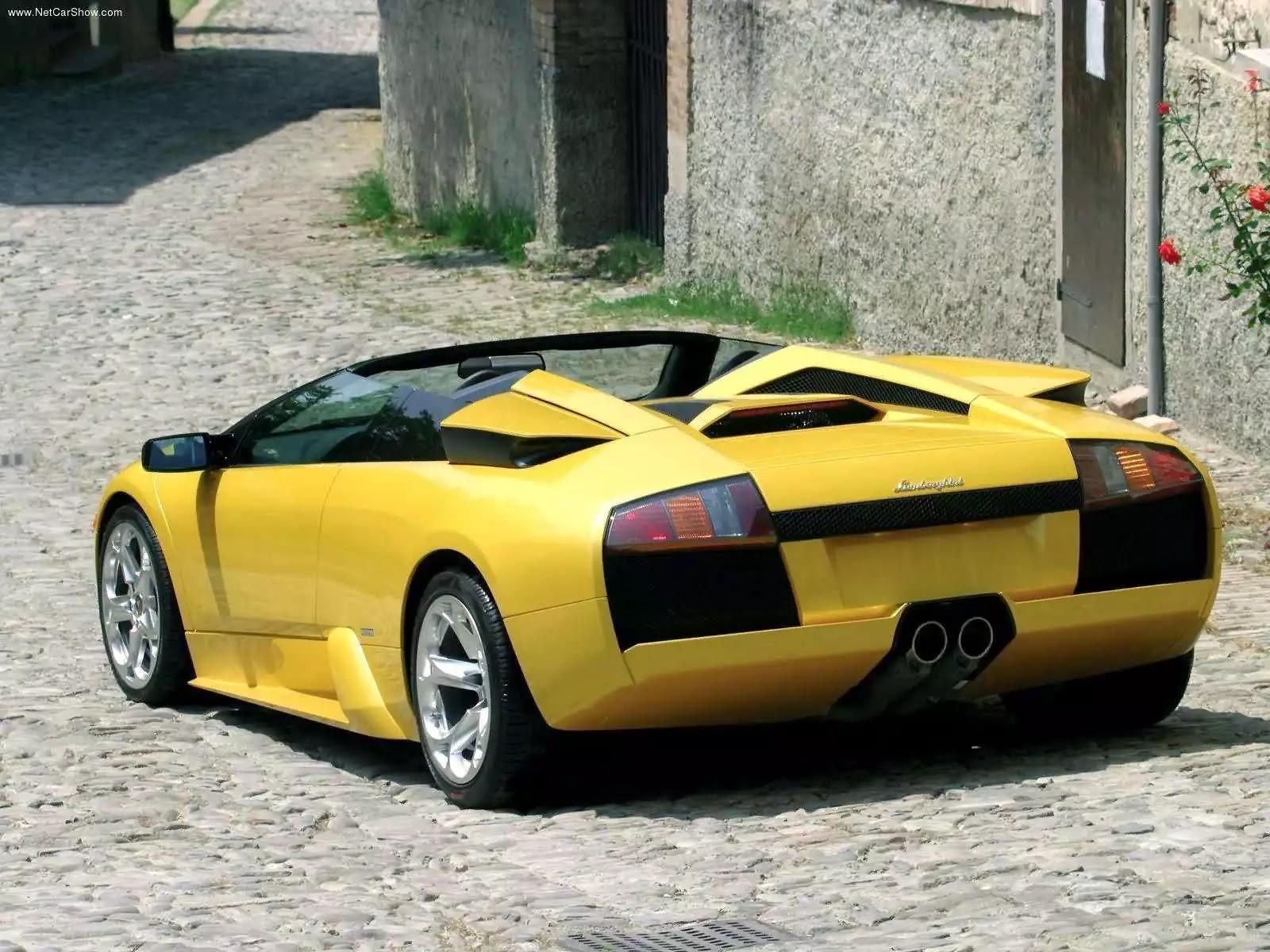 Hình ảnh siêu xe Lamborghini Murcielago Roadster 2004 & nội ngoại thất