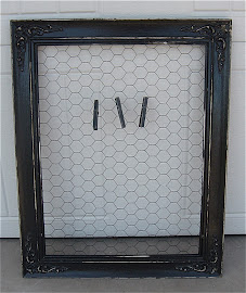 Chicken Wire Frame (SOLD)