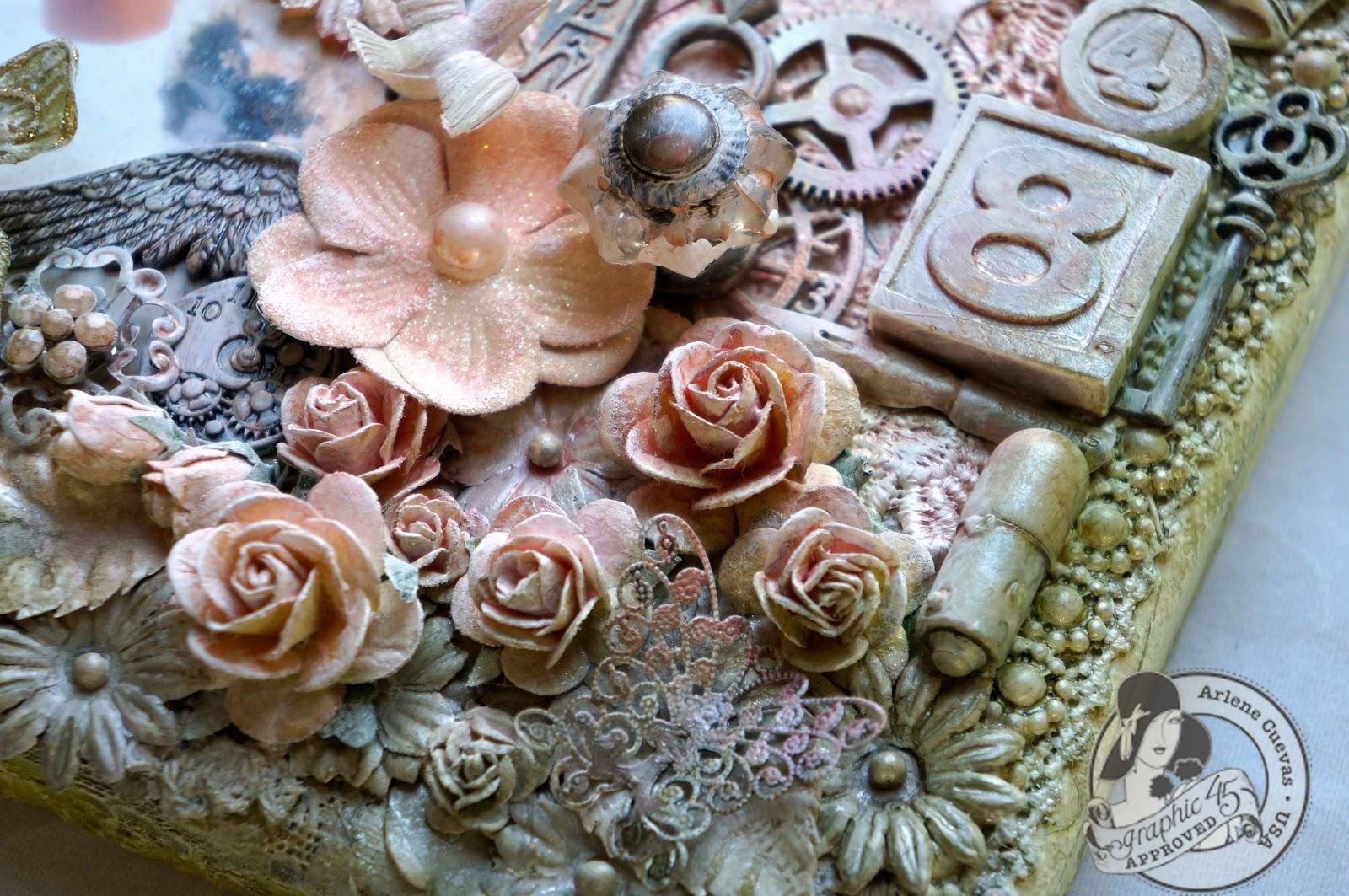 Butterfly Kisses & Paper Pretties: Secret Garden Mixed Media Altered ...