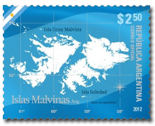 Islas Malvinas (Falkland Islands, stamp)