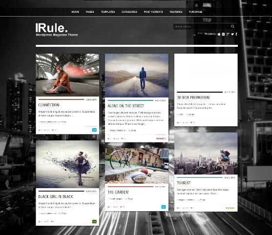 Rule - Responsive WordPress Theme for Magazine